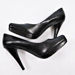 Black Jessica Simpson Stiletto Heels-6.5